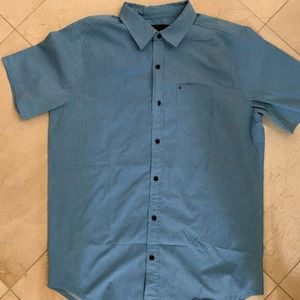 Light Blue Hurley shirt